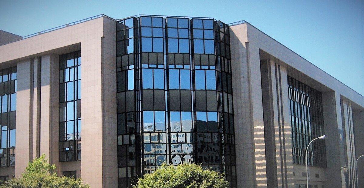 Edifício do Concelho da União Europeia com Sistemas de proteção passiva contra incêndios TRIA