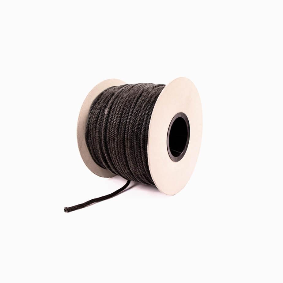 Cordão Tricotado Preto/ Branco