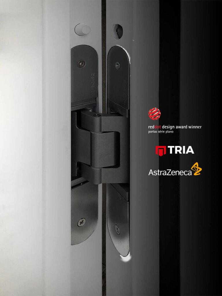 Nova sede da farmacêutica AstraZeneca fornecida com produtos TRIA